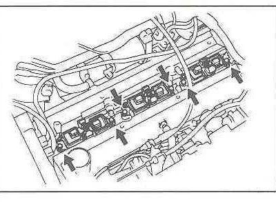 Zündkerzenwechsel Toyota Supra MK4...