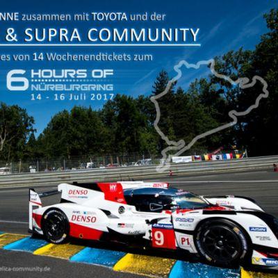 Gewinnt Tickets zum 6 Hours of Nürburgring