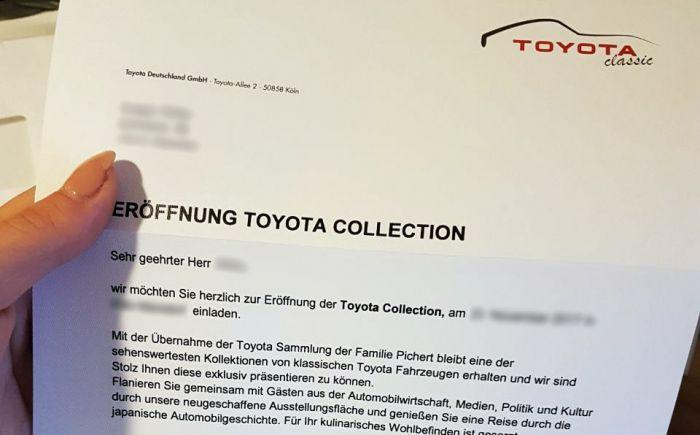Gründet Toyota eine eigene Classic Abteilung?