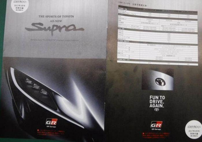 Foto-Leak: Supra MK5 Broschüre aufgetaucht! (unbestätigt)...