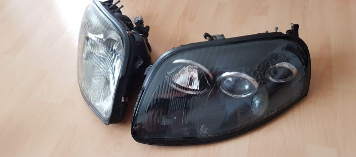 Restaurierung der (EU-Spec) Supra Scheinwerfer im Facelift-Look