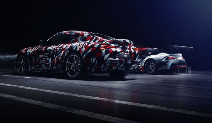 Toyota Supra feiert Weltpremiere auf dem Goodwood Festival of Speed