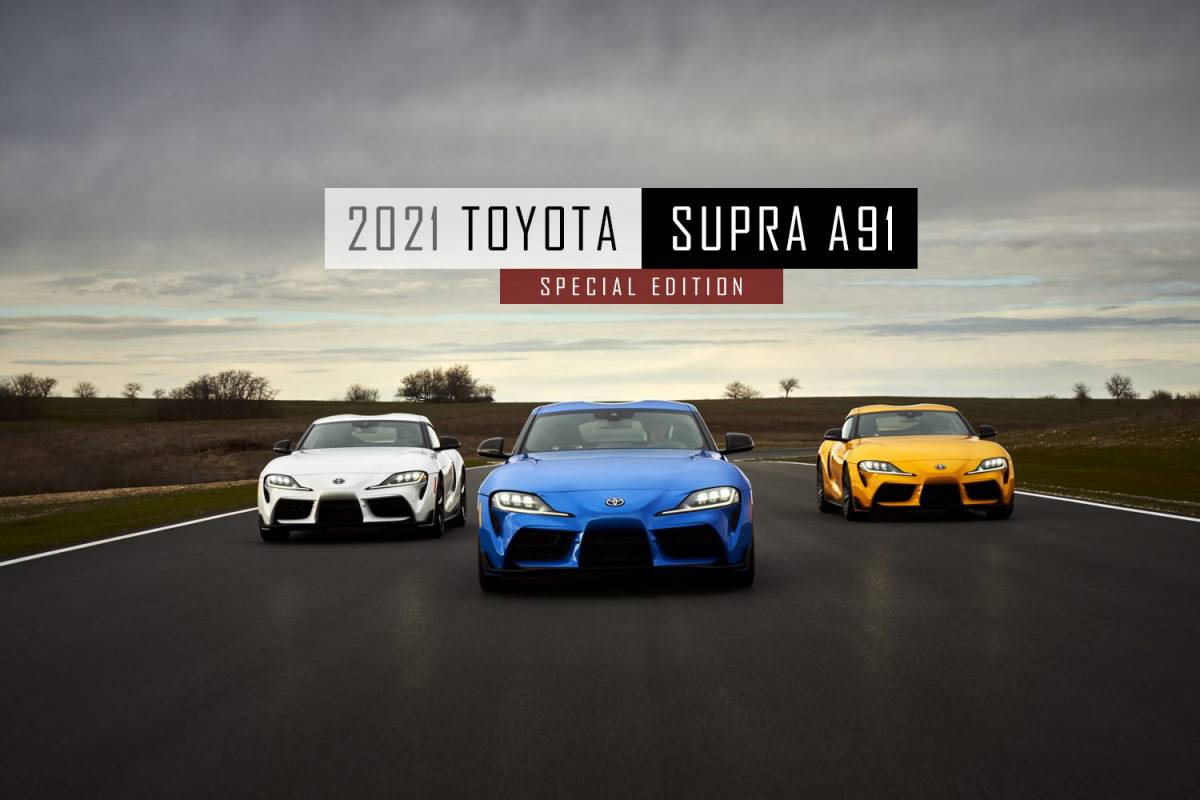 Der neue 2021 Toyota Supra A91 - Special Edition