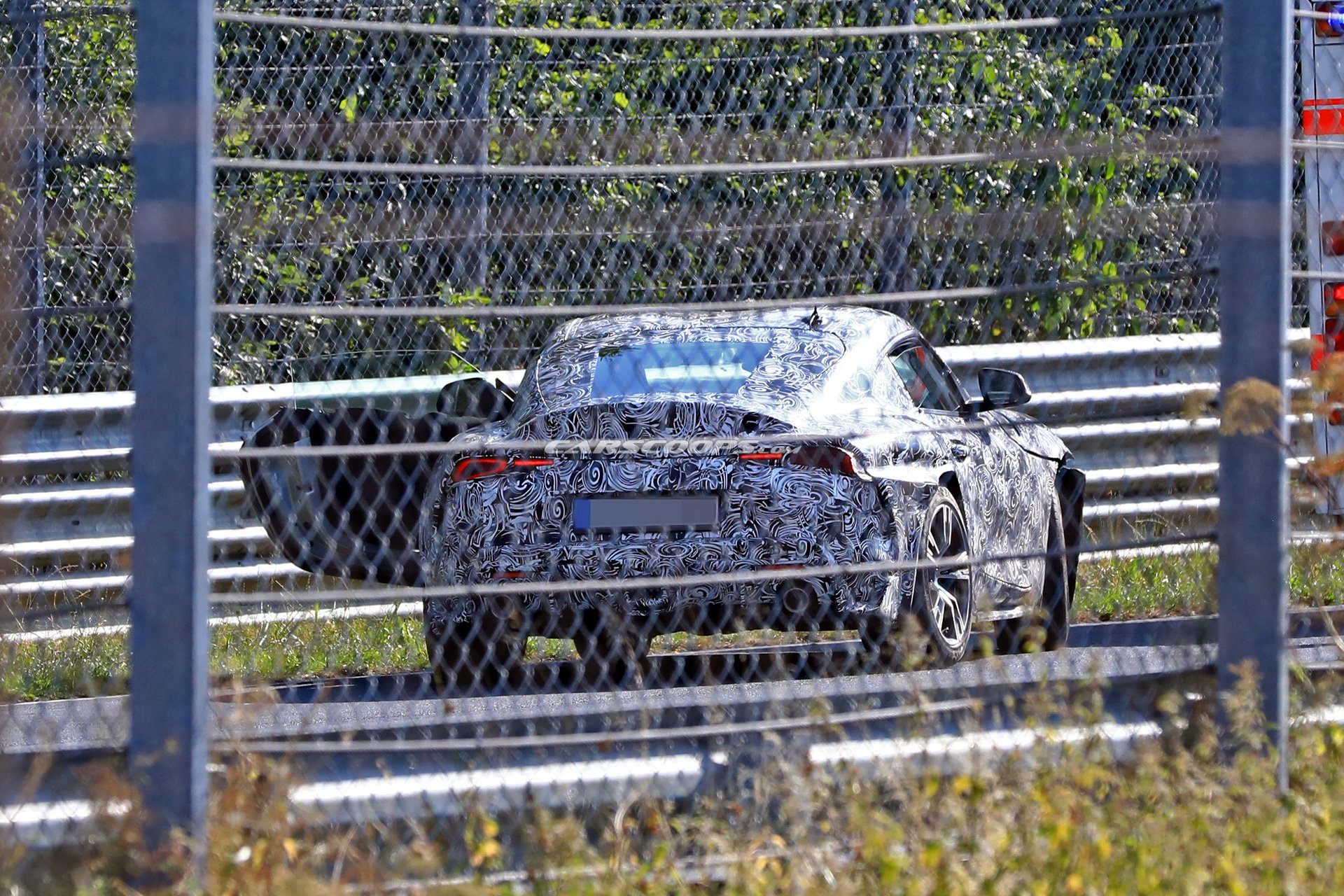 Toyota Supra prototype crashed at the Nürburgring - posted