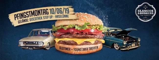 Classics & Burgers 2019 Oldtimer & Youngtimer Treffen