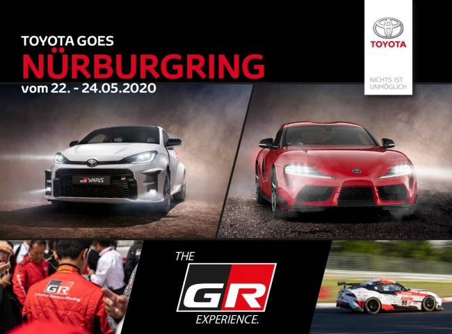 Toyota goes Nürburgring