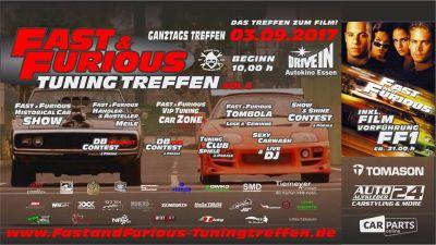 Fast & Furious Tuning Treffen - Essen