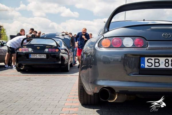 Toyota Supra MKIV Meet POLAND Photo credit: Parrot Eye Photography