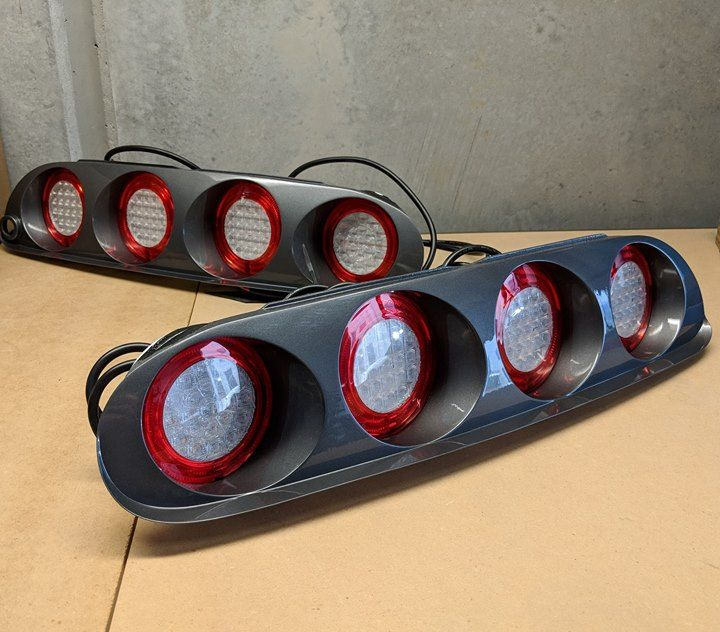 Another set of the Original spec Sniper Ring LED Supra tails in the build, this sets off to Germany 👌
