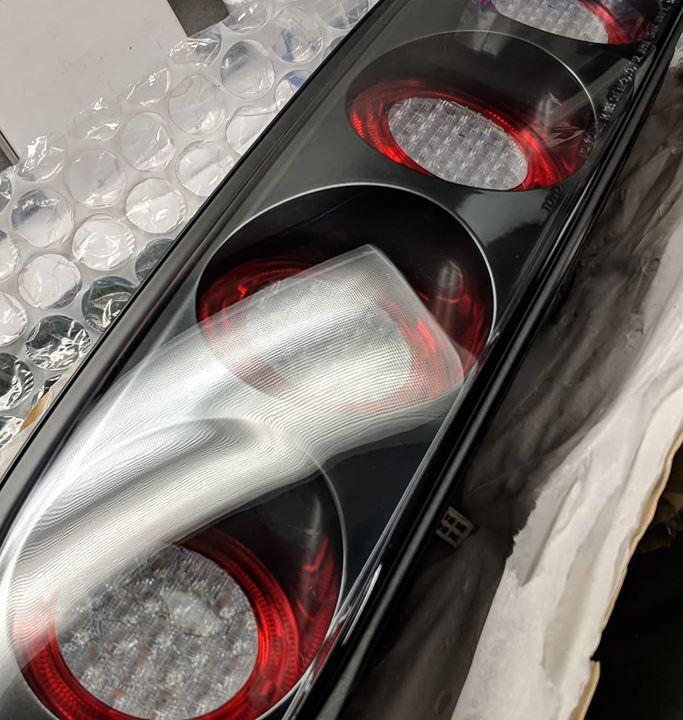 Sniper Ring LED Supra tails in Original Spec with premium Obsidian Shadow chrome paint finish added 👌