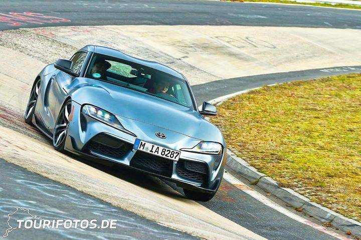 A90 spotted on Nürburgring #Toyota #Supra