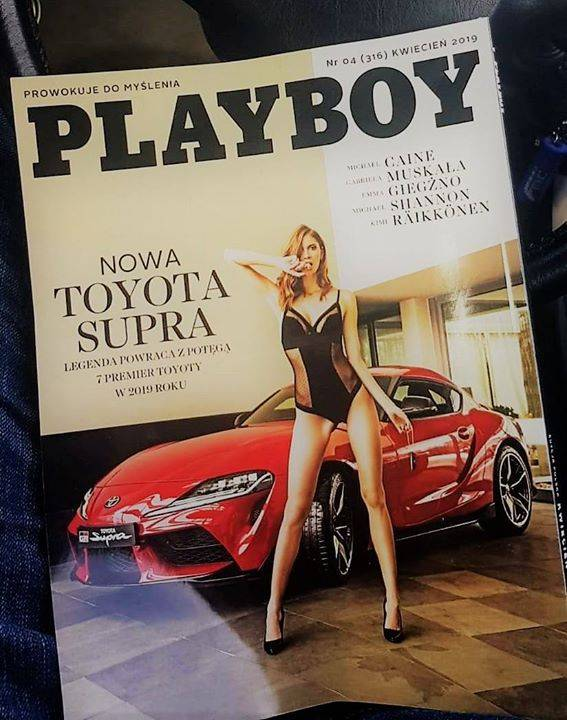 HOT!!!! The woman too :D #Toyota #Supra #SupraA90 #SupraCommunity #Playboy #ToyotaSupra