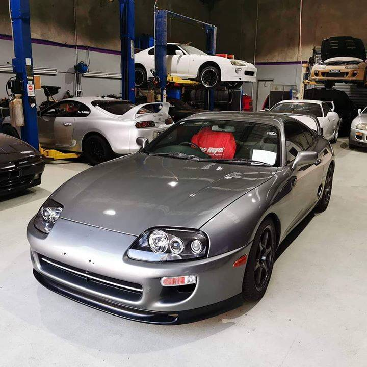 @g_hetto84 Supra with the Pro Spec AM lip fitted. We have these in stock now! Excellent fitment and quality, they are tough yet flexible. Check website for full details.