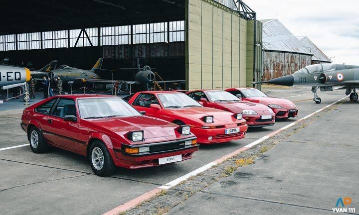 Das Treffen der Generationen #Toyota #Supra #SupraA90