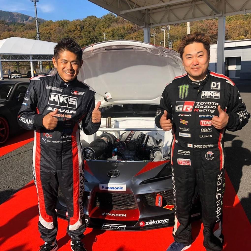 世界の斉藤大吾選手 久しぶりに会ったな、 相変わらずパワフルです。 @daigosaito87