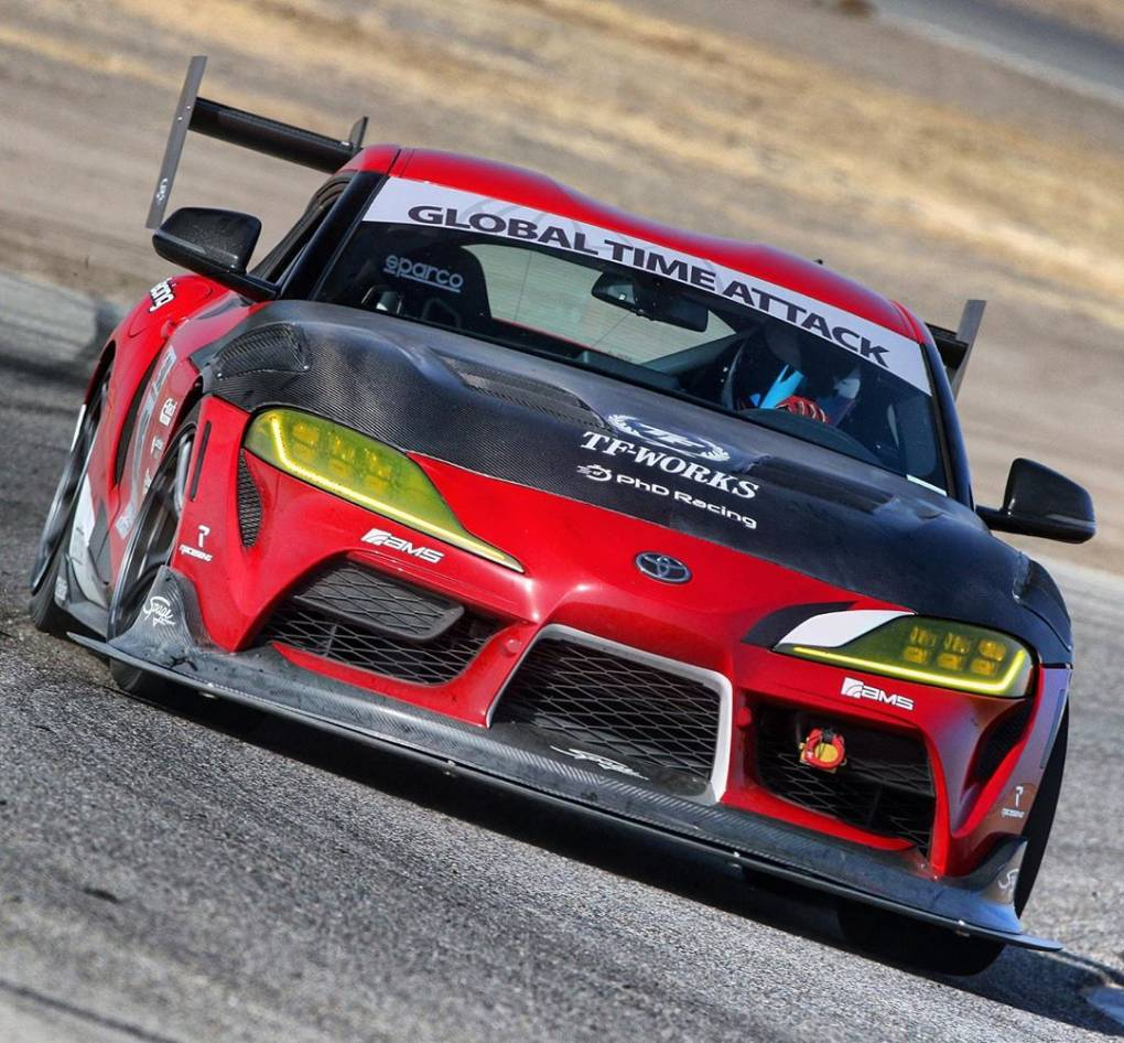 Dream on, fight on! We're just getting started... 👊 #TFWorks #PhDRacing #amsperformance #ToyotaSupra #Supra #Supramk5 #2020Supra #SupraA90 #A90 #SupraMkV #TimeAttack #Gridlife #GlobalTimeAttack #Buttonwillow #CW13 #a90supra 📸: @caliphotovideo