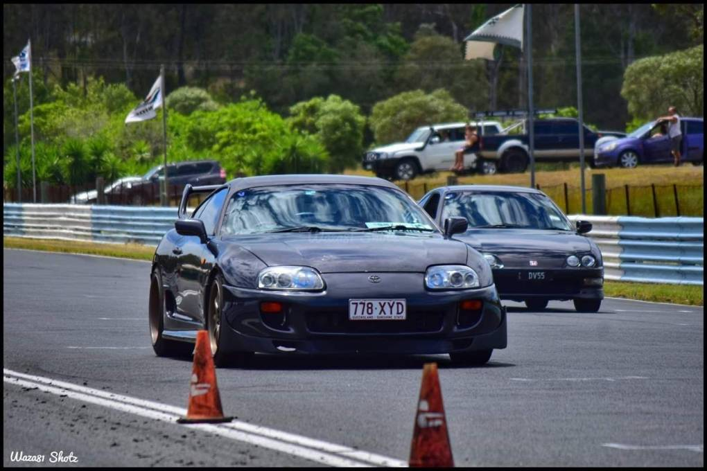:smile:my non turbo flying at track