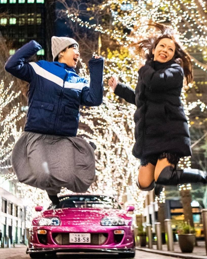 ❤️2019年から2020年へジャァンプ❤️ . . 今年もジャンピング納め❣️ . . Photo by Yamamura #丸の内 #TGCC #tokyogirlscarcollection #ジャンプ #CarEvent #CarGirl #sportscargirl #車女子会 #スポーツカー女子会 #車好き女子 #車イベント #jump #スープラ #スープラ女子 #supragirl #sportscargirl #sportscar #naosupra #model #gorgeouscar #japanesecarculture #carstagram #supragram #supramodel #ladydriven #車女子 #photograph #purpleSUPRA #carcollection #車好き女子 #美尻車研究家 #丸の内イルミネーション2019
