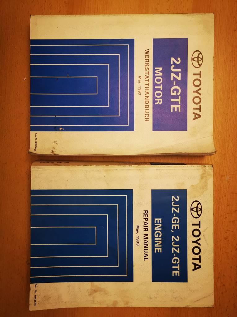 2x Werkstatthandbücher für Toyota Supra 2JZ GTE in DEUTSCH und ENGLISCH Hier sind die Links: - http://rover.ebay.com/rover/1/707-53477-19255-0/1?icep_ff3=2&pub=5575378759&campid=5338273189&customid=&icep_item=153838799528&ipn=psmain&icep_vectorid=229487&kwid=902099&mtid=824&kw=lg&toolid=11111 - http://rover.ebay.com/rover/1/707-53477-19255-0/1?icep_ff3=2&pub=5575378759&campid=5338273189&customid=&icep_item=153838807063&ipn=psmain&icep_vectorid=229487&kwid=902099&mtid=824&kw=lg&toolid=11111 Bei Fragen einfach PN!