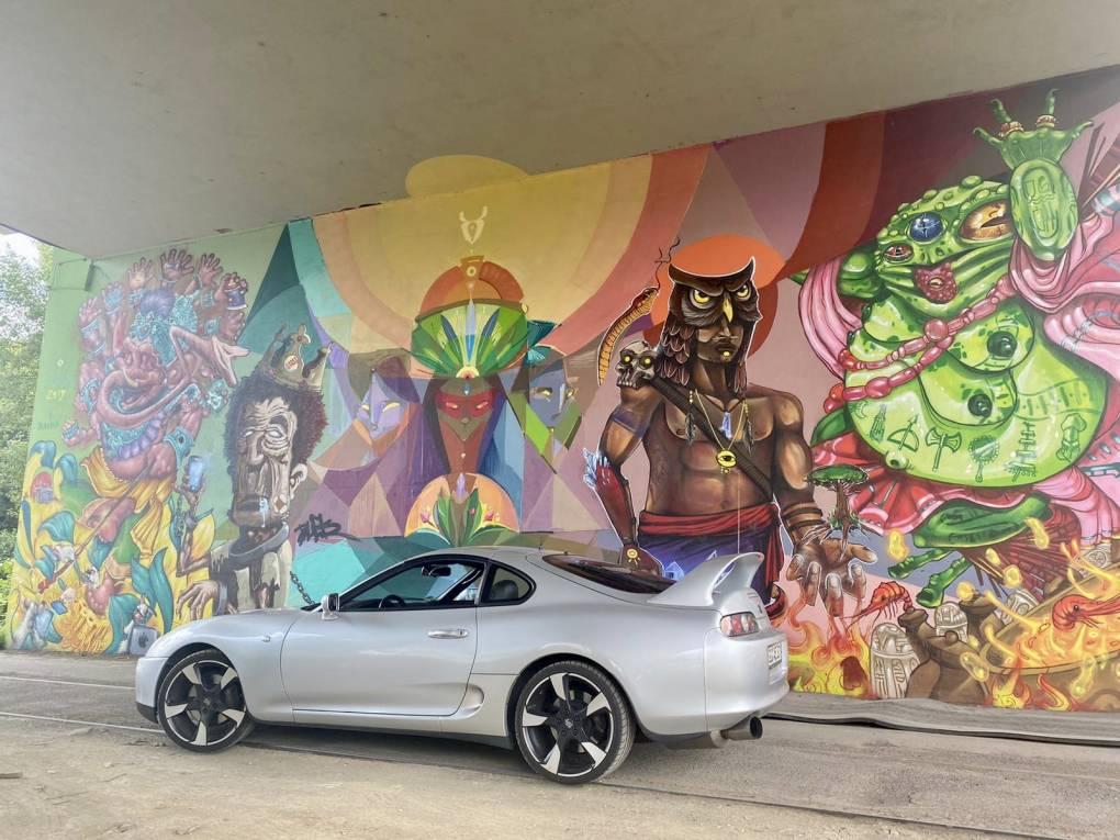 sehr viele schöne Graffitis in Mainz 😁