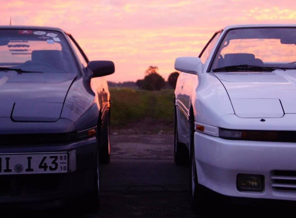 ☯️ #toyota #supra #ma70 #7mgte #jdm #sunset #photography