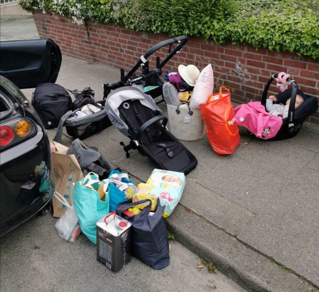 Foto von McGregory Das alles passt in einen MK4 + 2 Personen und ein Kleinkind