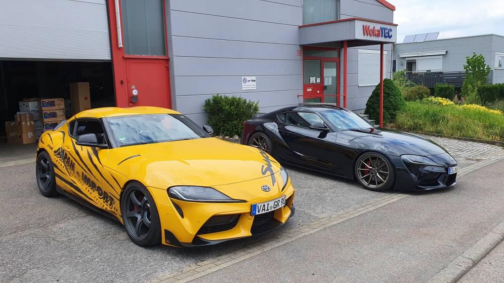 yellow meets black