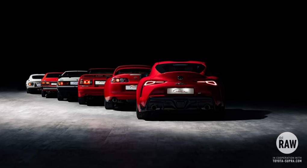 Foto von McGregory Toyota Supra Generations
