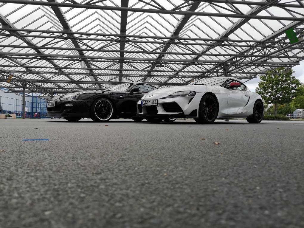 Foto von McGregory Hatten den Supra A90 Dynamic am Wochenende zum testen für unseren Bericht. Foto ist hier vom Handy