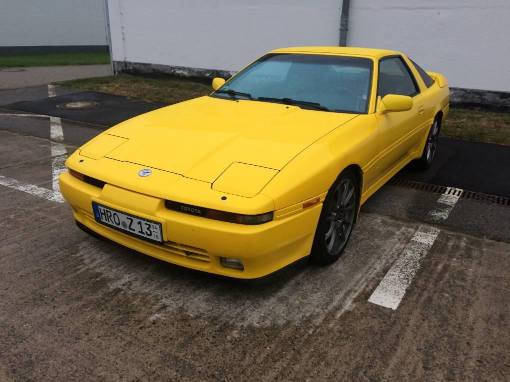 meine gelbe Supra