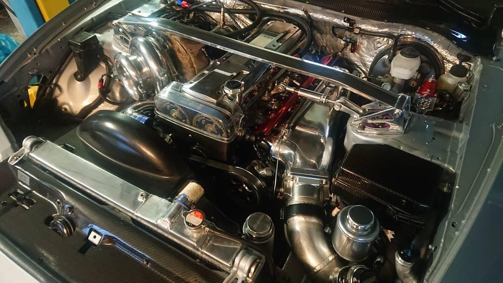 Rhd zu Lhd und Single Turbo Umbau