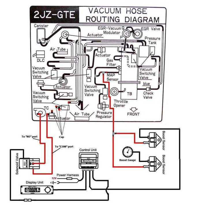 turbo boost controller diagram
